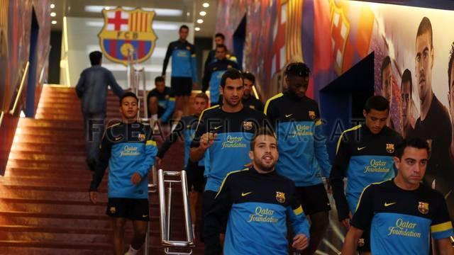 Training session 19/9/12. FOTO: MIGUEL RUIZ-FCB.