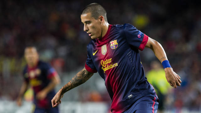 Cristian Tello. PHOTO: GERMAN PARGA - FCB