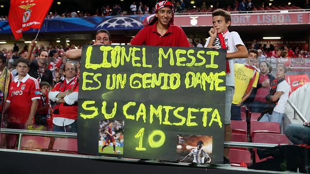 Benfica - FCB / FOTO: MIGUEL RUIZ - FCB