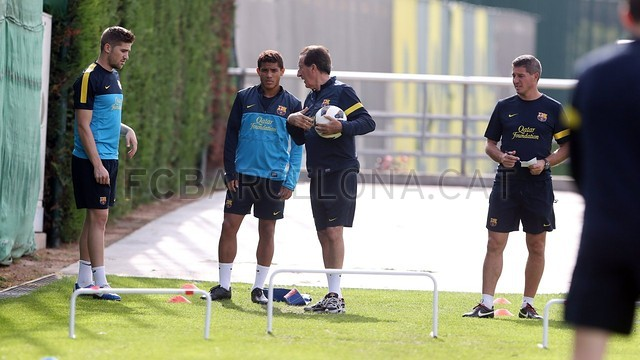 Training session 11/10/12. FOTO: MIGUEL RUIZ-FCB.