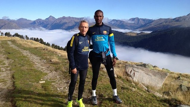 Abidal's stay in Vall d'Aran coming to an end / PHOTO: FCB