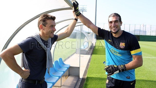 Training session 24/10/12. FOTO: MIGUEL RUIZ-FCB.