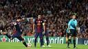 Leo Messi taking a free kick against Celtic / PHOTO: Miguel Ruiz - FCB