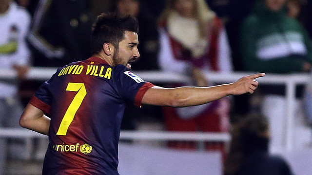 David Villa/ PHOTO: MIGUEL RUIZ - FCB
