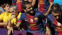 Dani Alves / PHOTO: MIGUEL RUIZ - FCB