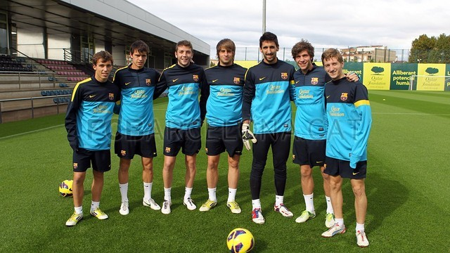 Training session. IMAGE: MIGUEL RUIZ-FCB. 