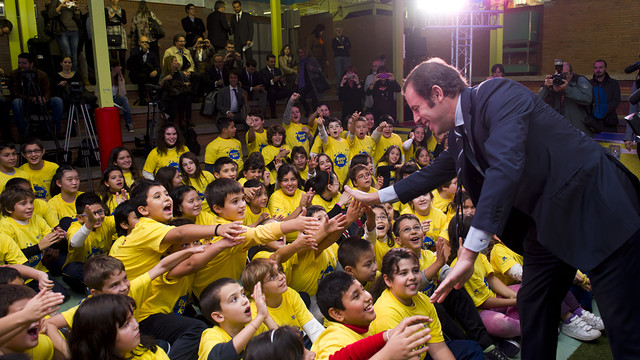 Sandro Rosell / PHOTO: LEX CAPARRS / FCB