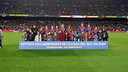 The 1st Members' Solidarity Day took place on the 22nd of December, 2011 on the day of the Cup tie against Hospitalet / PHOTO: ARCHIVO FCB