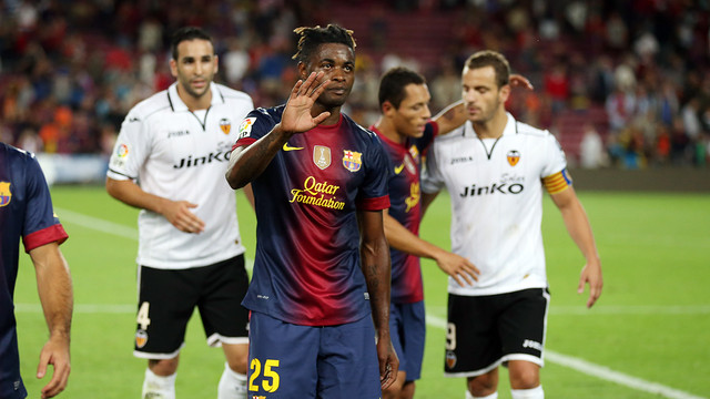 Alex Song / PHOTO: MIGUEL RUIZ - FCB