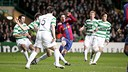 Messi scored two goals in his last vitist to Celtic Park / PHOTO: ARCHIVE FCB