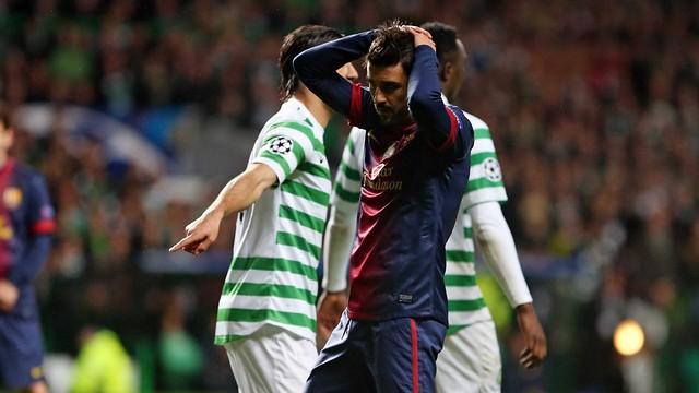 Celtic-Barça / Photo Miguel Ruiz