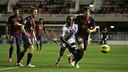 El Barça B ha patit per empatar davant un difícil Numància / FOTO: MIGUEL RUIZ - FCB