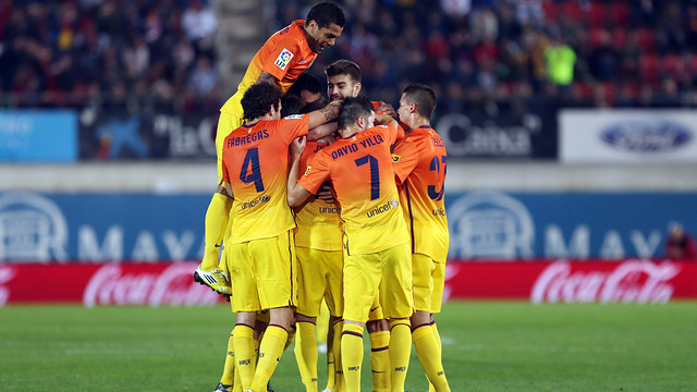 Tenth league win in numbers / PHOTO: MIGUEL RUIZ - FCB