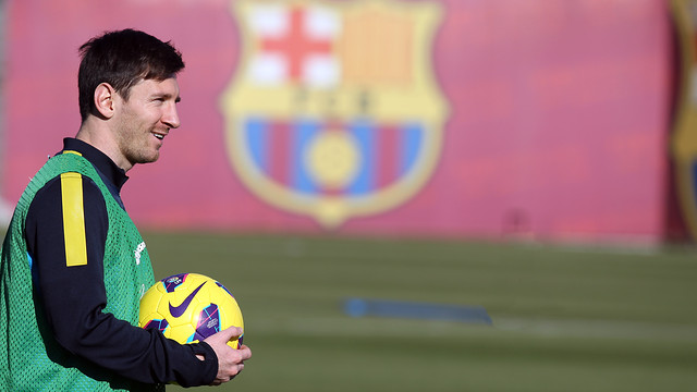 Messi this saturday / FOTO: MIGUEL RUIZ - FCB