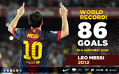 record 86 goals