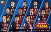 eleven masia trained players