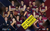 PLANTILLA FCBARCELONA REGAL 2012-13