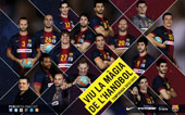 PLANTILLA FCBARCELONA INTERSPORT 2012-13