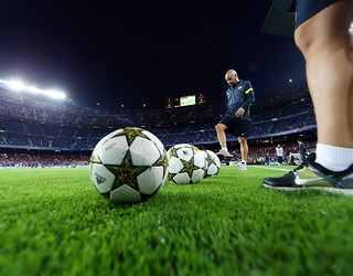 Le ballon de Ligue des Champions reviendra au Camp Nou / Photo Miguel Ruiz