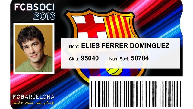 Carnet de soci 2013