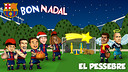 Els Barça Toons celebren el Nadal