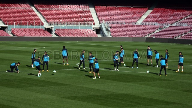 Training session 10/01/2013 / PHOTO: MIGUEL RUIZ - FCB