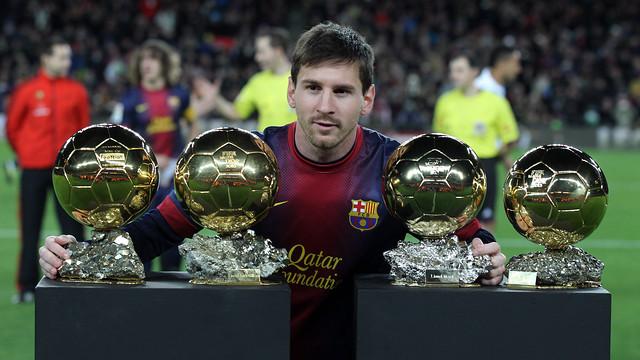 Messi Pilota d'Or / FOTO: MIGUEL RUIZ - FCB