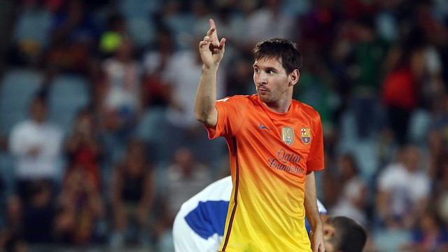 Messi in action / PHOTO: ARCHIVE FCB