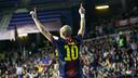 Igor, un dels golejadors del Barça Alusport aquesta temporada / FOTO: Arxiu - FCB