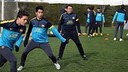 Bara's B training session 23/01/2013 / PHOTO: MIGUEL RUIZ - FCB