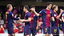 Barça B v Castilla / PHOTO: ARXIU FCB