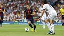 Iniesta in the Madrid - Barça Spanish Super Cup match / PHOTO: MIGUEL RUIZ - FCB