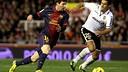 Messi vs Valencia / PHOTO: MIGUEL RUIZ - FCB