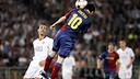 Messi scoring against United / PHOTO: MIGUEL RUIZ-FCB.