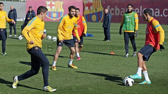 Training session 09/02/2013. FOTO: MIGUEL RUIZ-FCB.