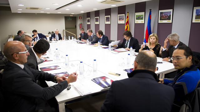 Board of Directors. Photo: FCB - Alex Caparrós