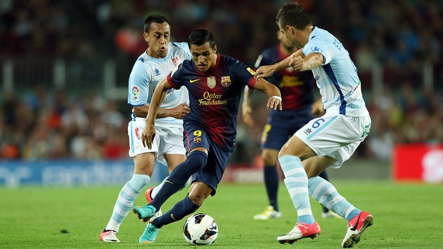 Alexis vs. Granada / PHOTO: Miguel Ruiz - FCB