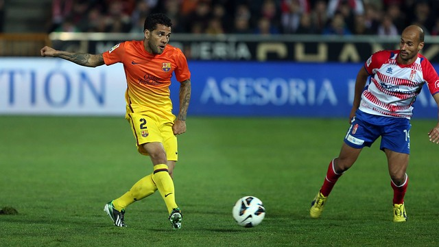 Alves / PHOTO: MIGUEL RUIZ - FCB