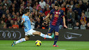 Villa in the Bara-Celta game. FOTO: MIGUEL RUIZ - FCB