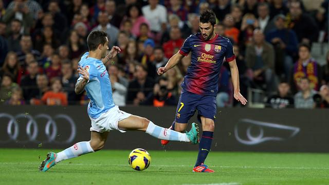 Барселона обыгрывает Сельту