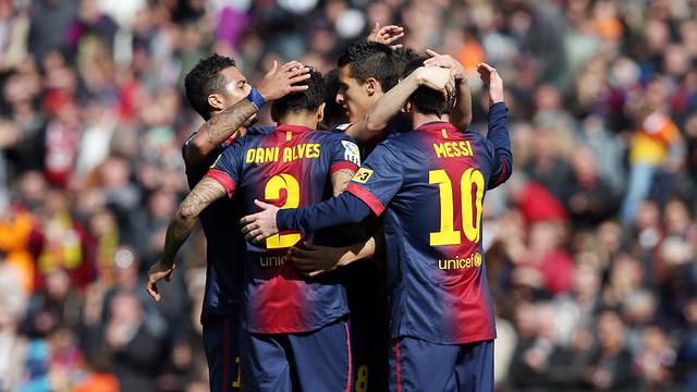 Un instant del Barça-Getafe. FOTO: MIGUEL RUIZ-FCB.
