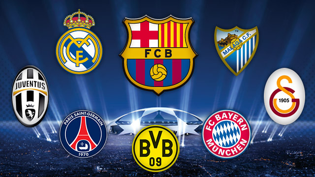fc barcelonas seven possible rivals in the champions