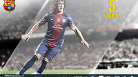 wallpaper featuring carles puyol