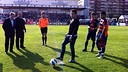 Thiago made the kick-off of honour / PHOTO: micfootball.com