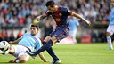 Tello vs Celta / PHOTO: MIGUEL RUIZ - FCB