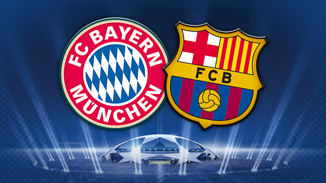 champions league barcelona vs bayern munich