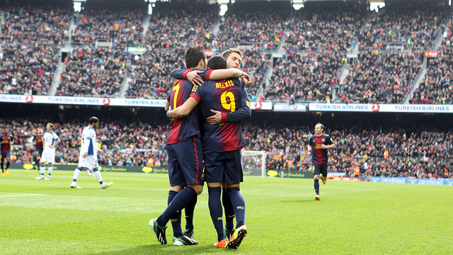 Barça need just 9 more points for the title/ FOTO: ARXIU FCB