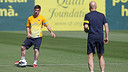Leo Messi, on thursday / PHOTO: MIGUEL RUIZ-FCB