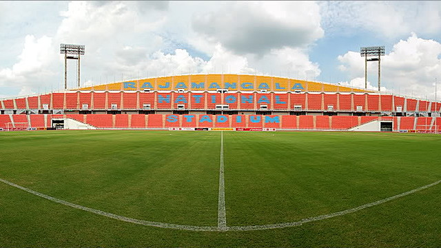 Rajamangala national stadium.