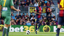 Abidal,face à Levante. PHOTO: MIGUEL RUIZ-FCB.